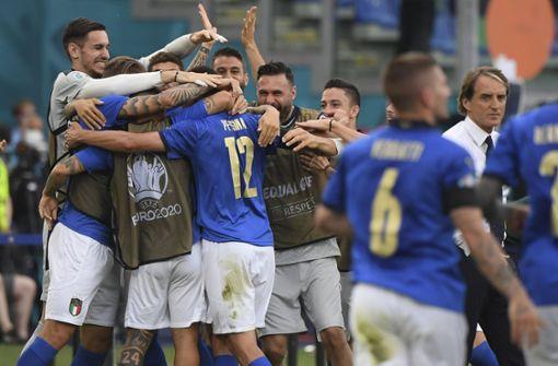Italien souveräner Gruppenerster – auch Wales weiter
