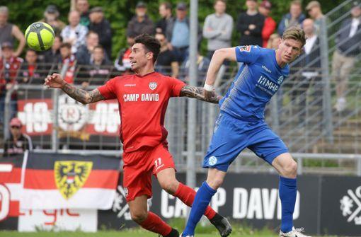 Nur 1:1 – Kickers verpassen Chance beim SSV Reutlingen