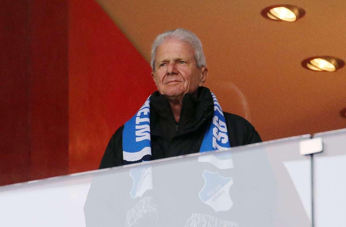 Hoffenheim-Mäzen Dietmar Hopp Foto: Pressefoto Baumann/Julia Rahn