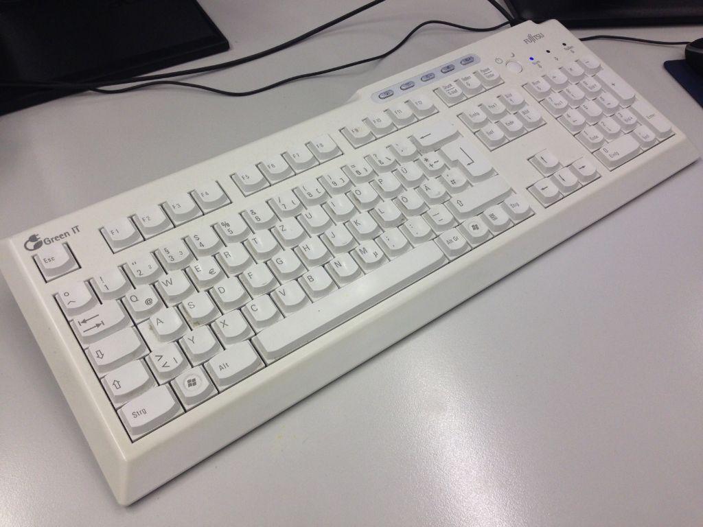 Tastaturen sind ein Paradies für Keime.  Foto: StZ