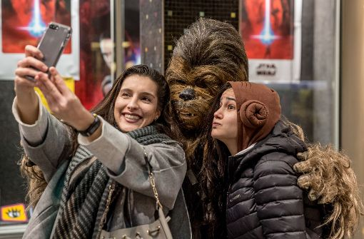 Chewbacca und Darth Vader zu Gast in der Gloria Passage