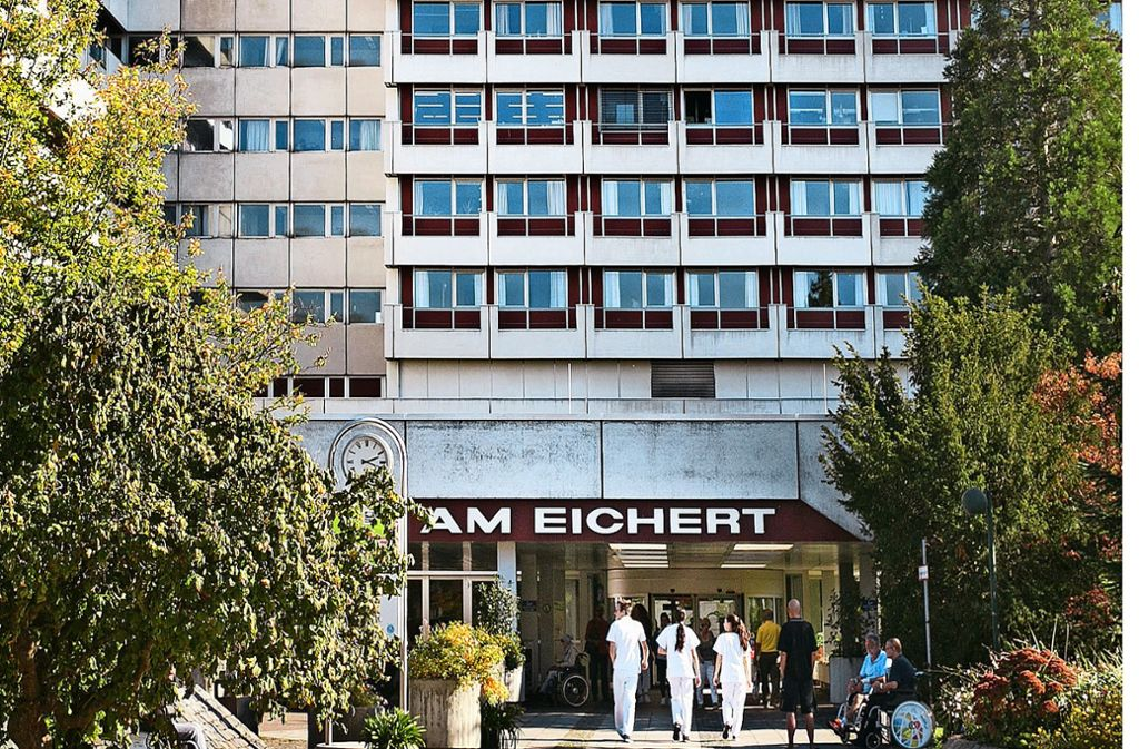 Die Göppinger Klinik am Eichert, ein Standort der Alb Fils Kliniken,  hat 2018 weniger Patienten versorgt als im Vorjahr. Foto: Archiv/Horst Rudel