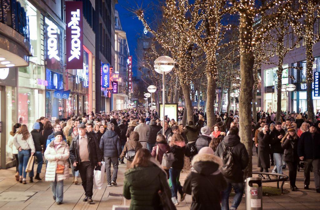 Die Lange Einkaufsnacht im Dezember: Die Wiederauflage am 28. März ist jetzt verschoben worden. Foto: Lichtgut/Ferdinando Iannone