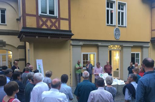 Diskussion um  Schafhaus-Erschließung