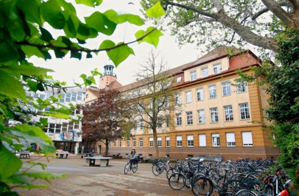 Am Tag der offenen Tür gepunktet: das Ludwigsburger Schillergymnasium ist  zufrieden mit den Anmeldezahlen Foto:
