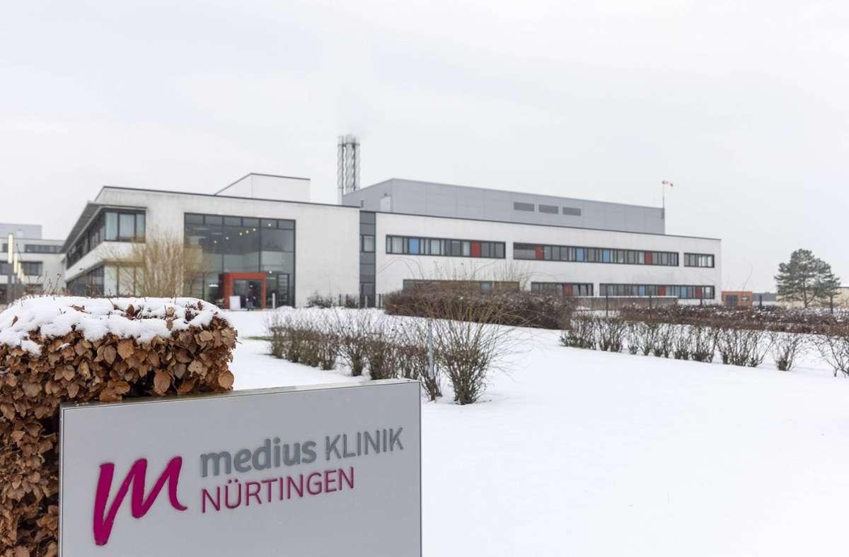In der Medius-Klinik in Nürtingen haben sich jeweils neun Mitarbeiter und Patienten mit Corona infiziert. Foto: 7aktuell.de/Daniel Jüptner