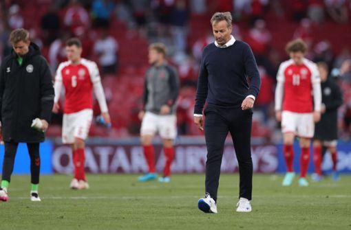 """Dänemark-Trainer: """"Könnte nicht stolzer auf Spieler sein"""""""