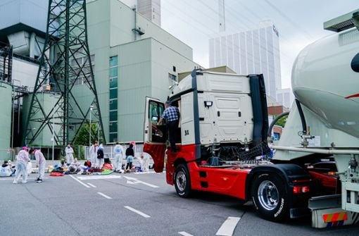 Blockade am Kohlekraftwerk friedlich beendet
