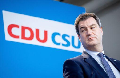 CSU-Chef sieht die Grünen als neue linke Volkspartei