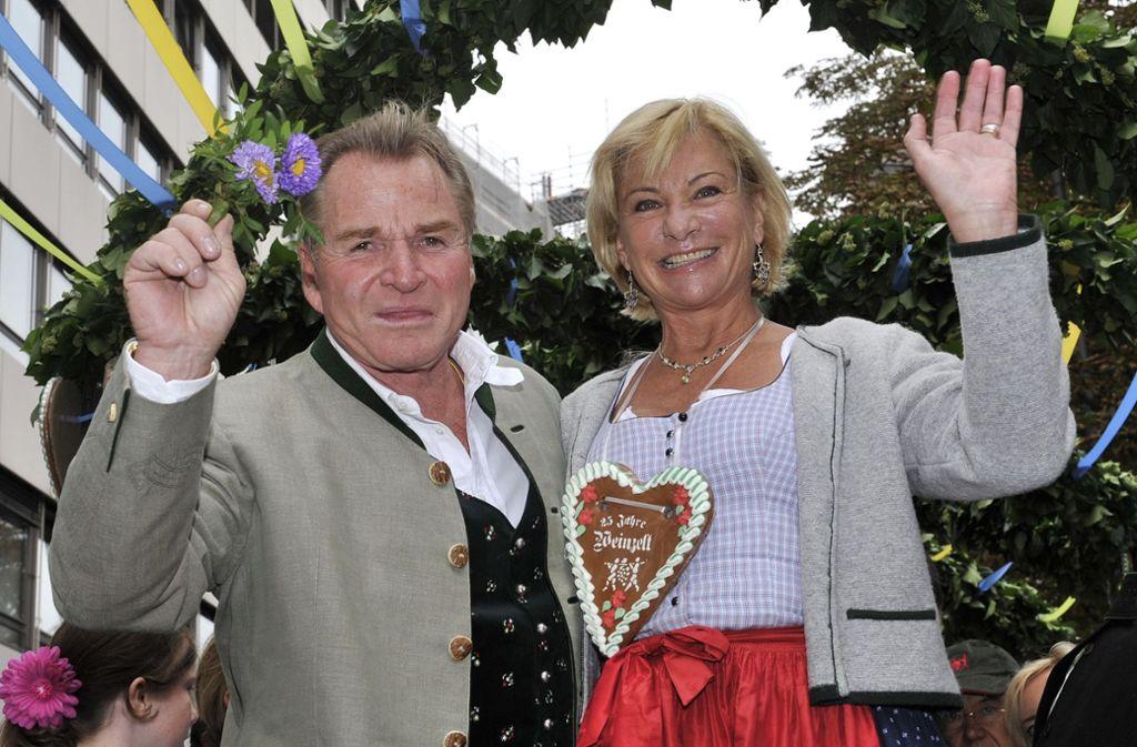 Fritz und Angela Wepper waren seit 1979 verheiratet. Foto: dpa