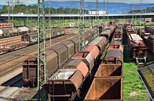 Viel Potenzial für mehr Güterzüge