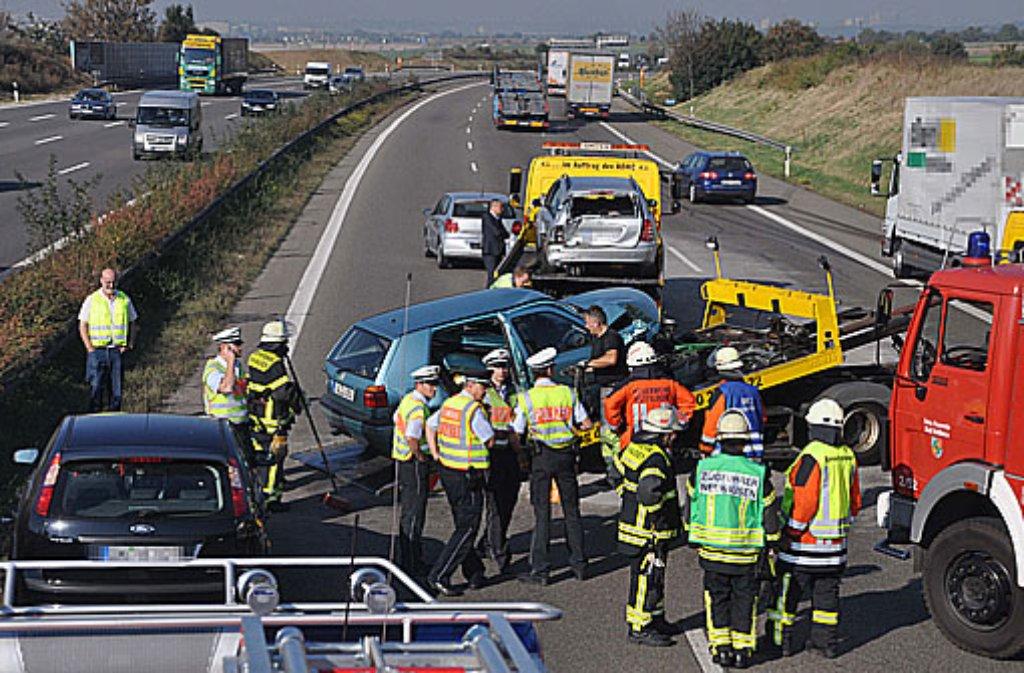 Unfall Autobahn Stuttgart