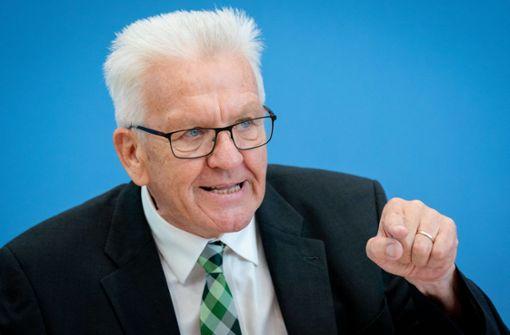 Winfried Kretschmann beliebtester Ministerpräsident Deutschlands