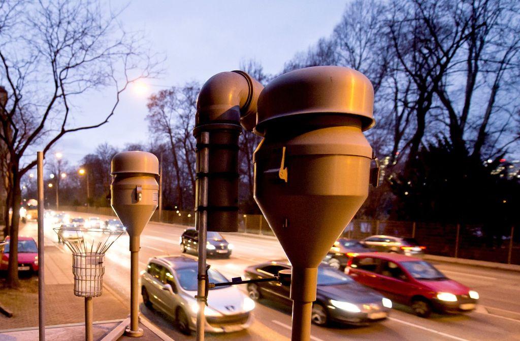Der Alarm wurde in dieser Feinstaubalarm-Periode in Stuttgart schon zum zweiten Mal ausgelöst. Foto: dpa