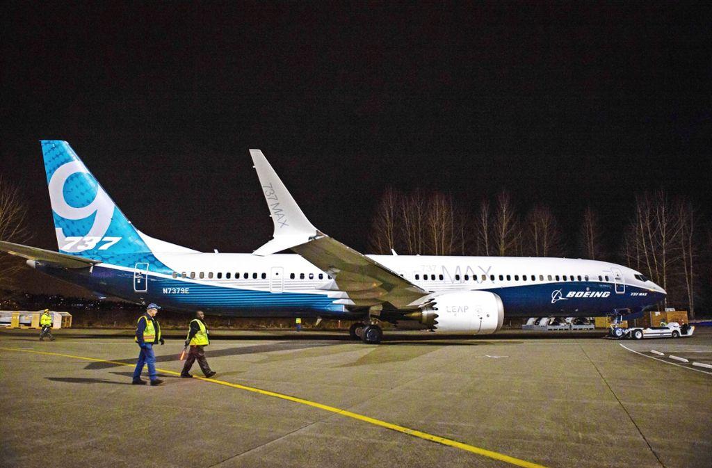 Immer mehr Flugzeuge vom Typ Boeing 737 Max bleiben am Boden. Foto: Elizabeth Merida 843-641-2282