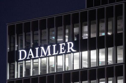 Weitere Investoren fordern mit Diesel-Klagen Millionen von Daimler