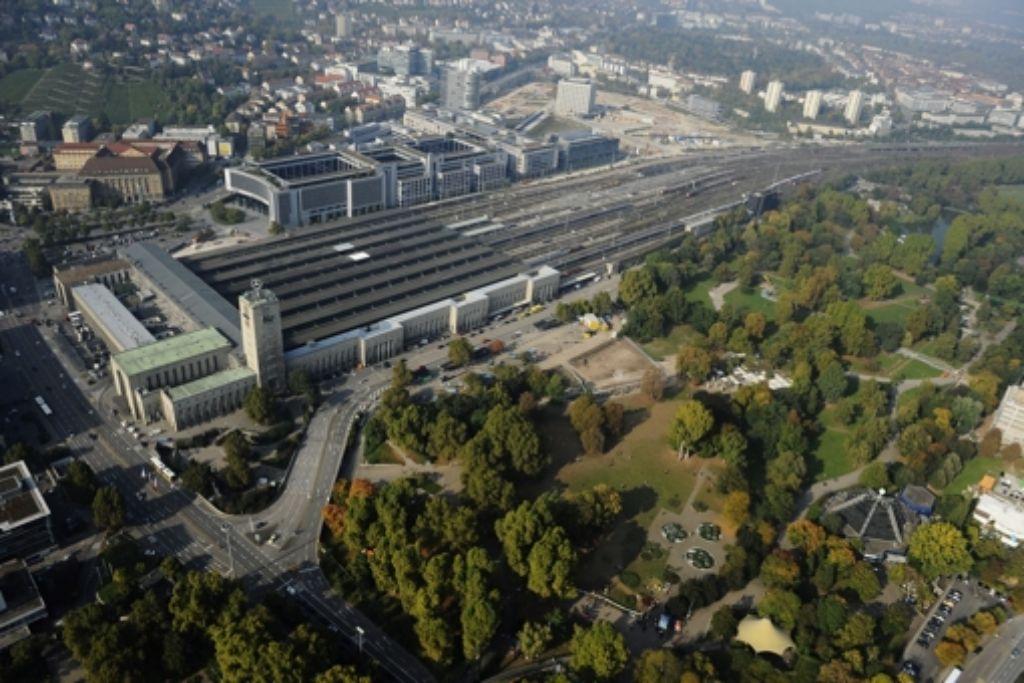 Die Bahn sucht eine neue Baufirma für das Technikgebäude am Hauptbahnhof. Foto: dapd