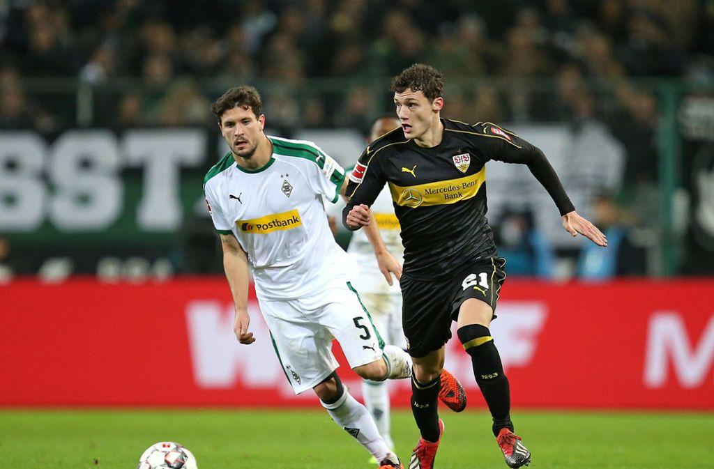 Eine Halbserie dürfen die VfB-Fans sich noch an Benjamin Pavard erfreuen. Foto: Baumann