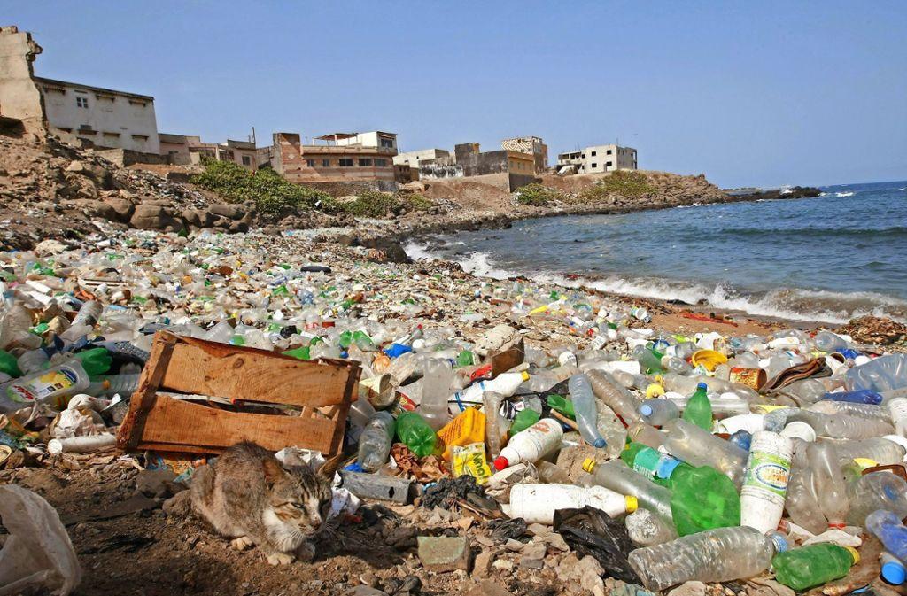 Das Meer verkommt immer mehr zur Müllkippe. Foto: dpa