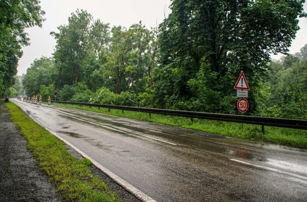 Der Dauerregen hinterlässt deutliche Spuren. Foto: SDMG