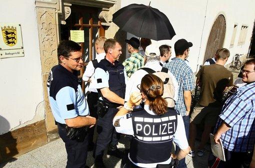 Leonberg rückt stärker ins Visier der Neonazis