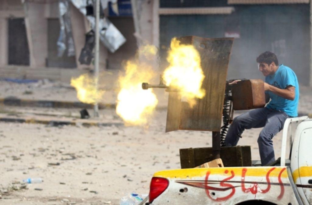 Libyen ist ein vom Bürgerkrieg gebeuteltes Land. Foto: dpa