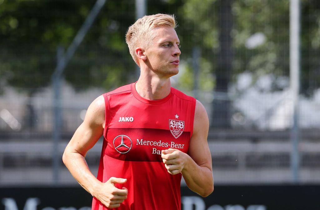 Timo Baumgartl: Von Weiß-Rot zu Rot-Weiß. Foto: Pressefoto Baumann