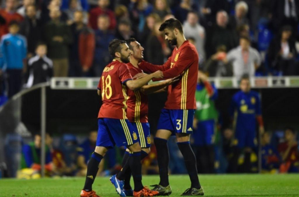 Belgien Gegen Spanien