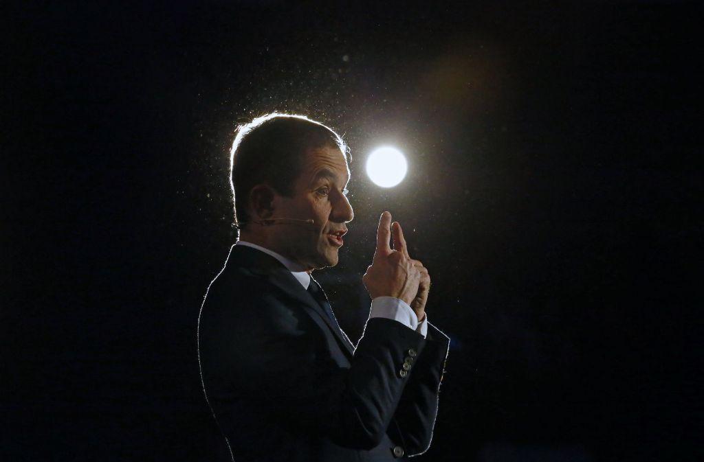 Benoît Hamon gilt als Favorit bei Frankreichs Sozialisten. Foto: AP