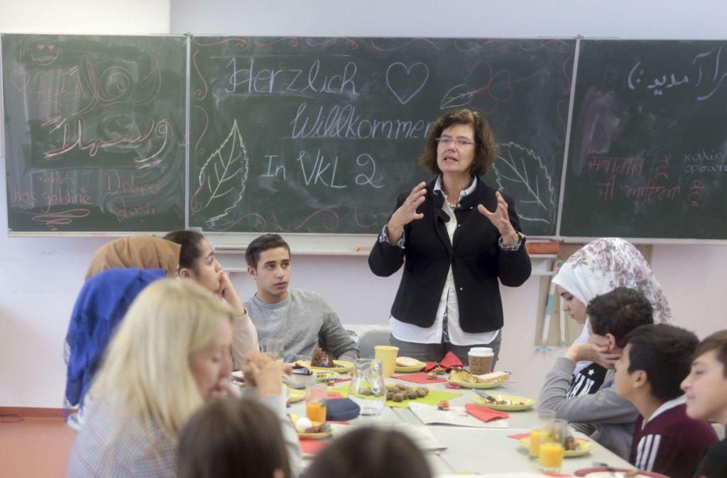 Blick in die  Vorbereitungsklasse der Glemstalschule. Foto: factum/