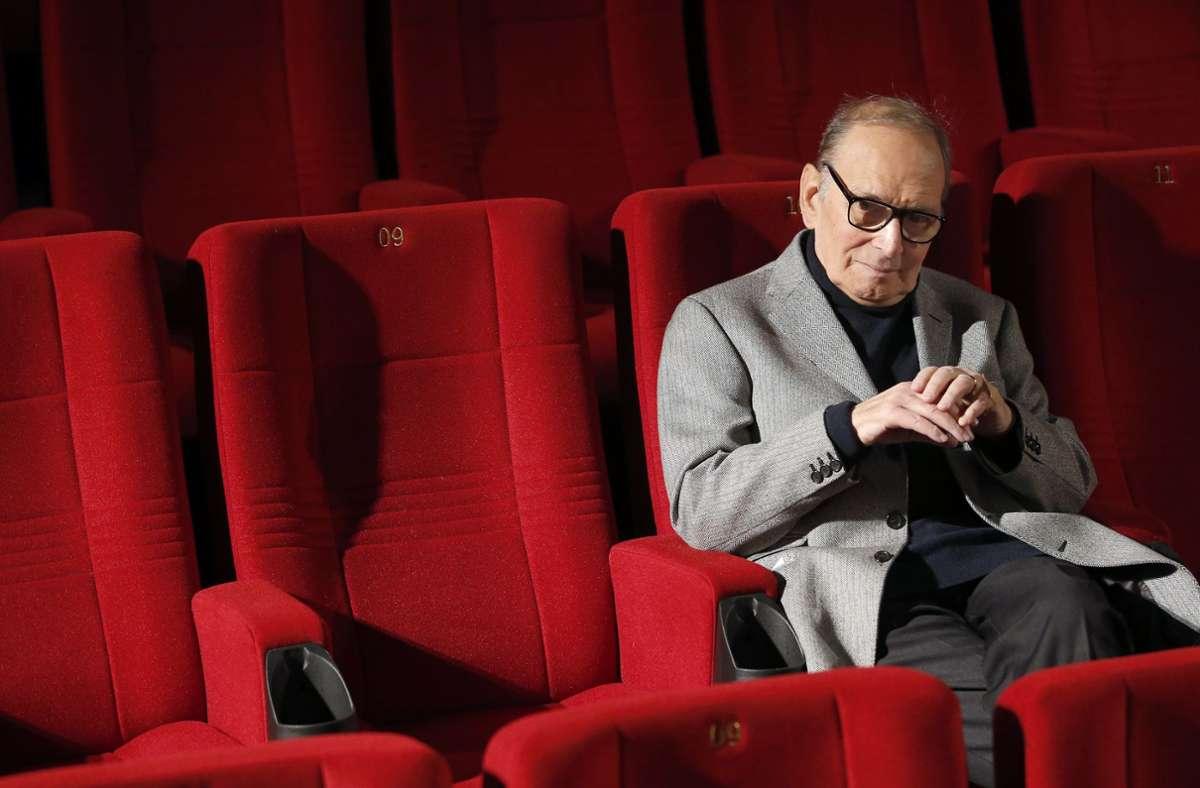 Ennio Morricone ist Alter von 91 Jahren in Rom gestorben. Foto: AP/Michael Sohn