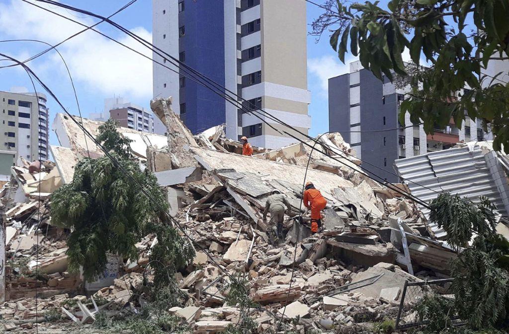 Das Gebäude befindet sich im Zentrum von Fortaleza rund drei Kilometer südlich vom Strand Iracema, einem beliebten Touristenort. Foto: AP/LC Moreira
