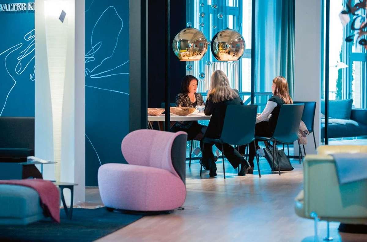 Am Anfang einer jeden Planung steht ein ausführliches Gespräch, in dem Barbara Benz und ihr architare Team die Anforderungen und Wünsche der Kunden kennenlernen. Foto: Andreas Henn
