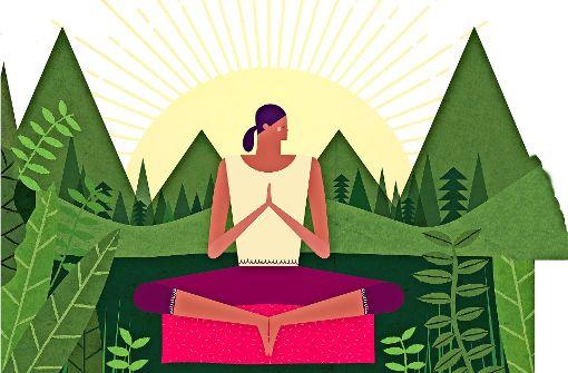 Meditieren gegen den Stress