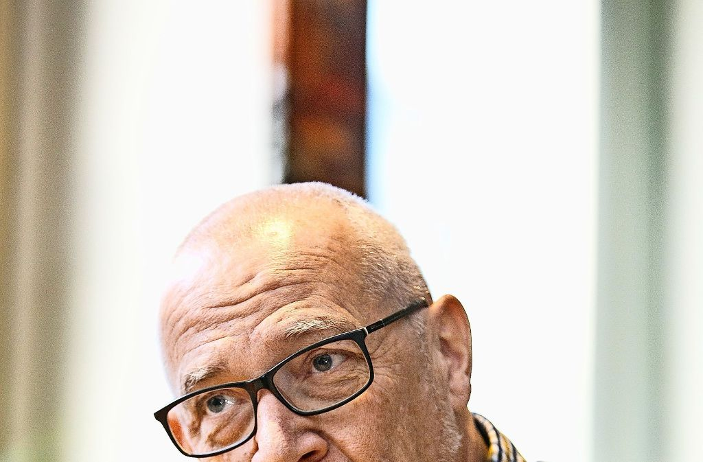 Michael Grebner setzt sich auch im Ruhestand für alte Menschen ein. Foto: Horst Rudel