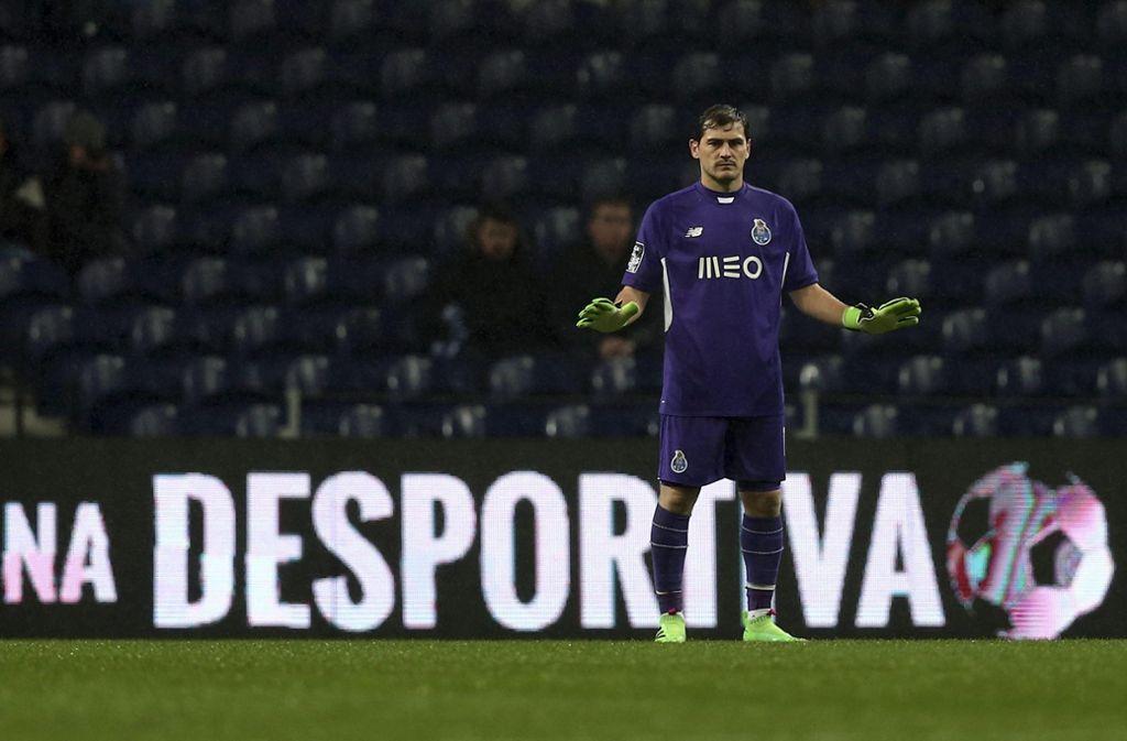 Iker Casillas beendet offenbar seine Karriere. (Archivbild) Foto: dpa