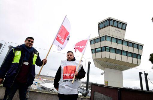Streiks bald auch am Flughafen Stuttgart möglich