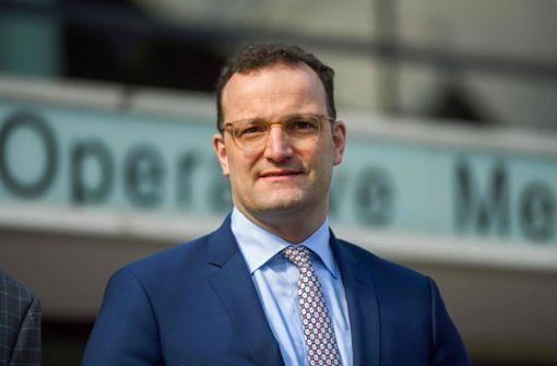 Gesundheitsminister Spahn für Masken-Produktion inDeutschland