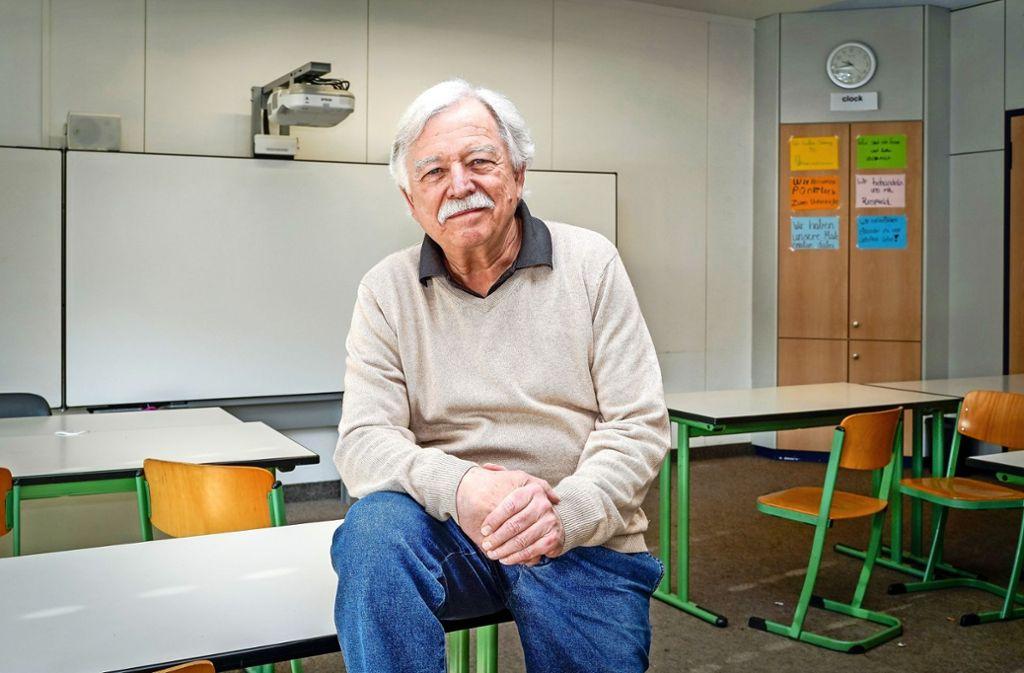 """""""Meine Zeit als Lehrer war und ist eine sehr schöne Zeit"""", sagt Roland Klinger. Foto: factum/Bach"""