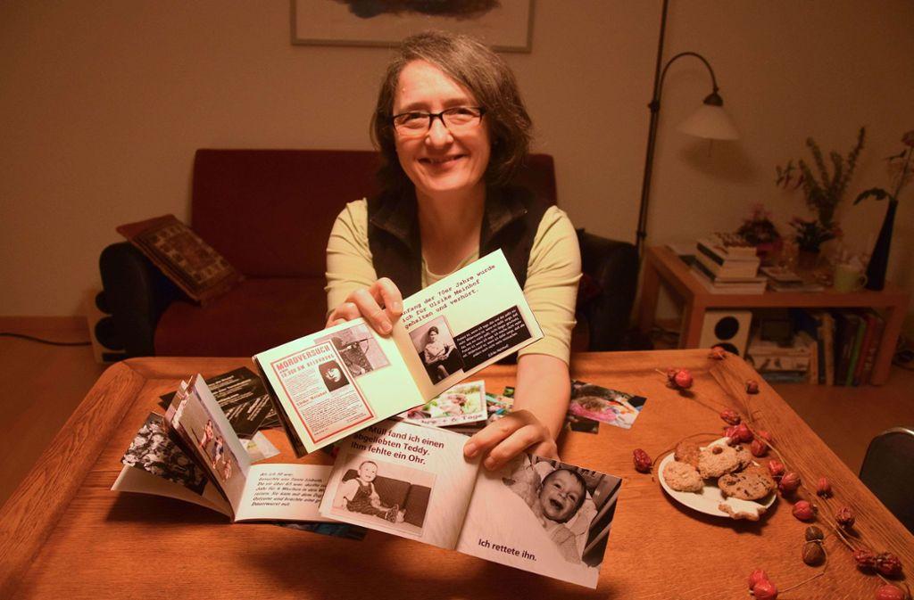 Carola Krawczyk hat bereits 35 Bücher und Büchlein geschrieben. Foto: Petra Mostbacher-Dix