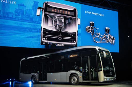 Daimler bringt  den Elektro-Bus in die Städte