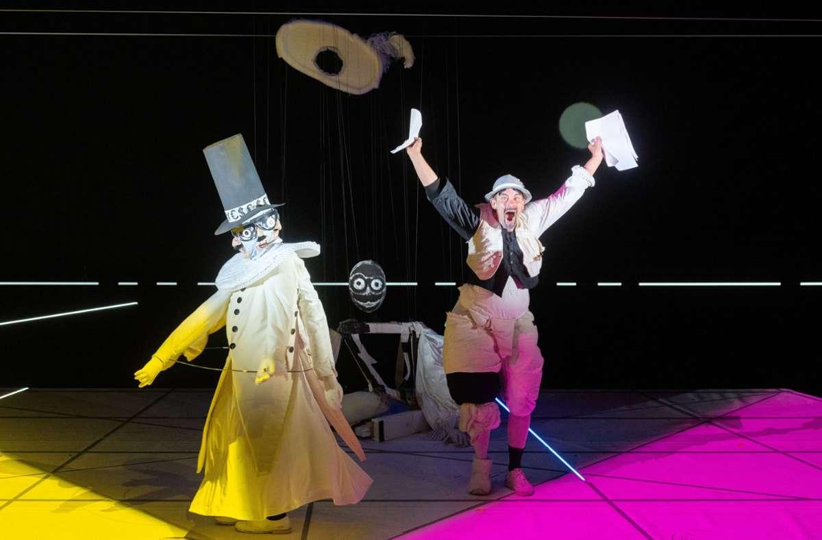 Im Schauspiel Stuttgart ist Don Juan nur eine Puppe. Foto: Monika Rittershaus
