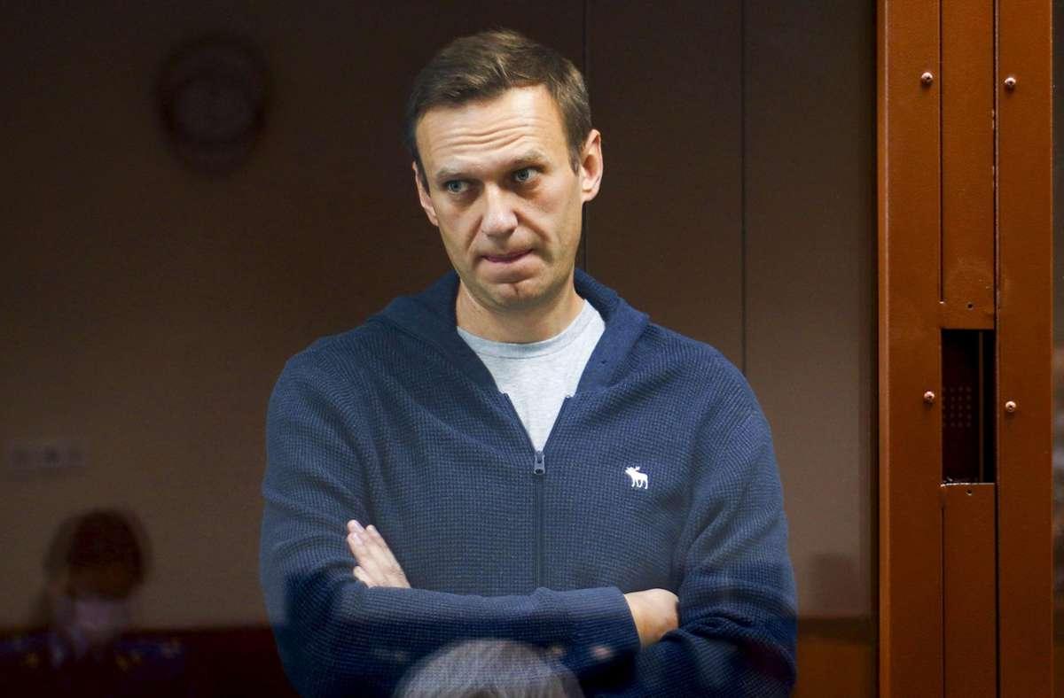 Der Kremlgegner Alexej Nawalny befindet sich seit zwei Wochen im Hungerstreik. (Archivbild) Foto: dpa/Uncredited