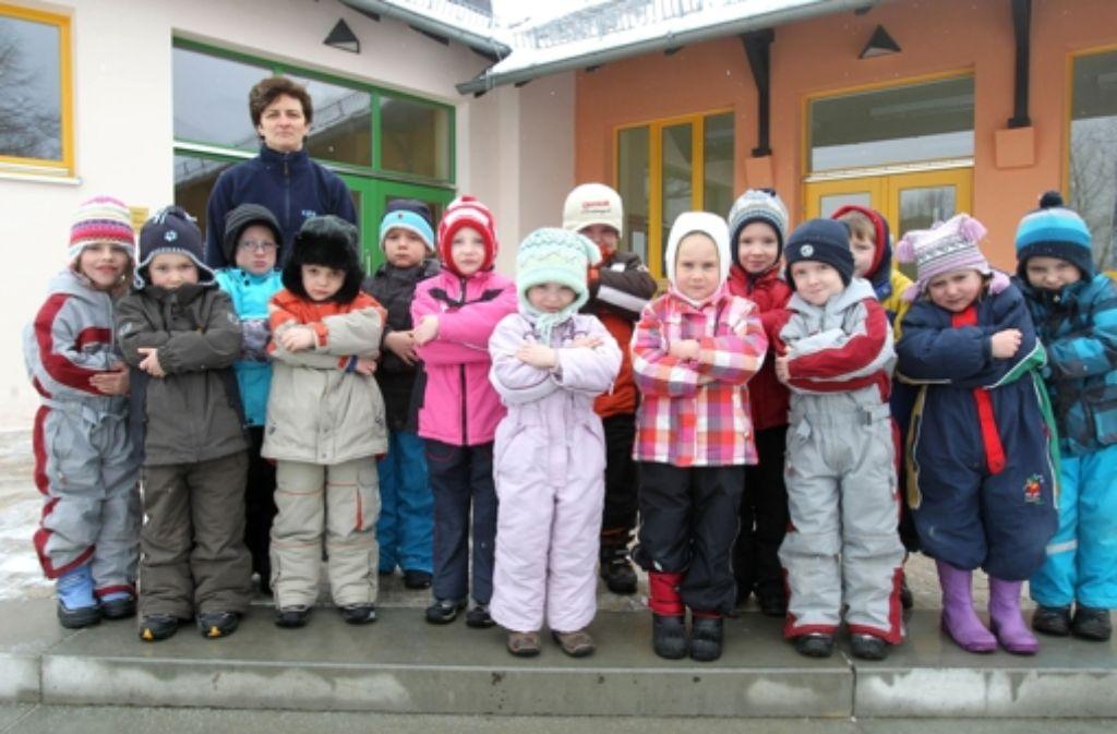 Auch, wenn's vielleicht nicht so aussieht: die Kinder sind in Ordnung... Foto: dpa-Zentralbild