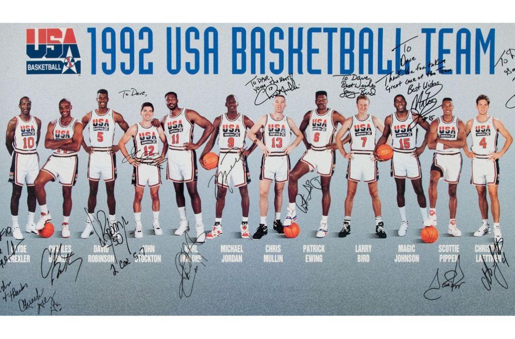 """Das """"Dream Team"""": Eine Mannschaft für die Ewigkeit Foto: AP"""