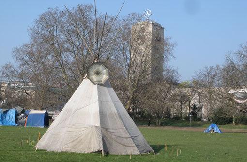Parkschützer wollen Zelte abbrechen