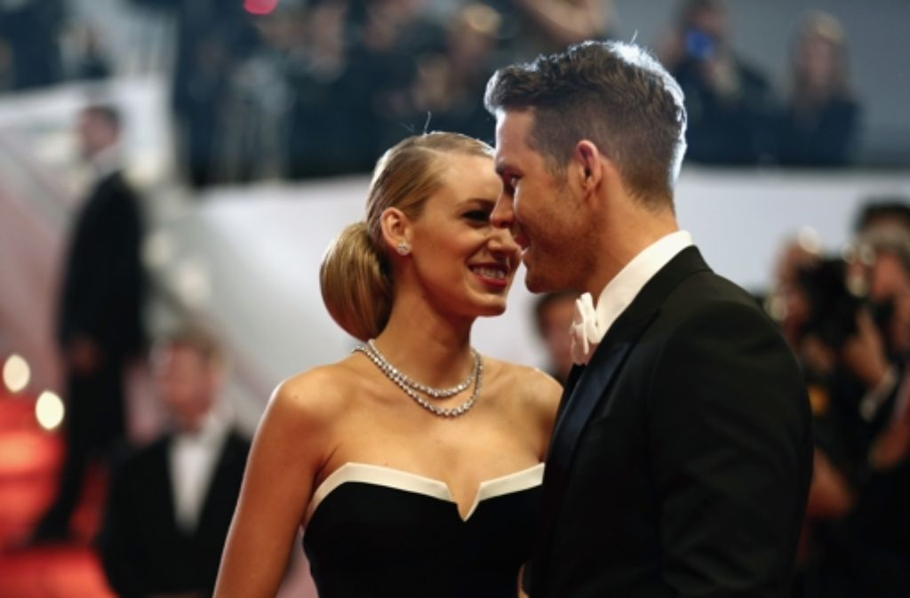 Blake Lively und Ryan Reynolds bekommen ein Baby. Foto: Getty Images Europe