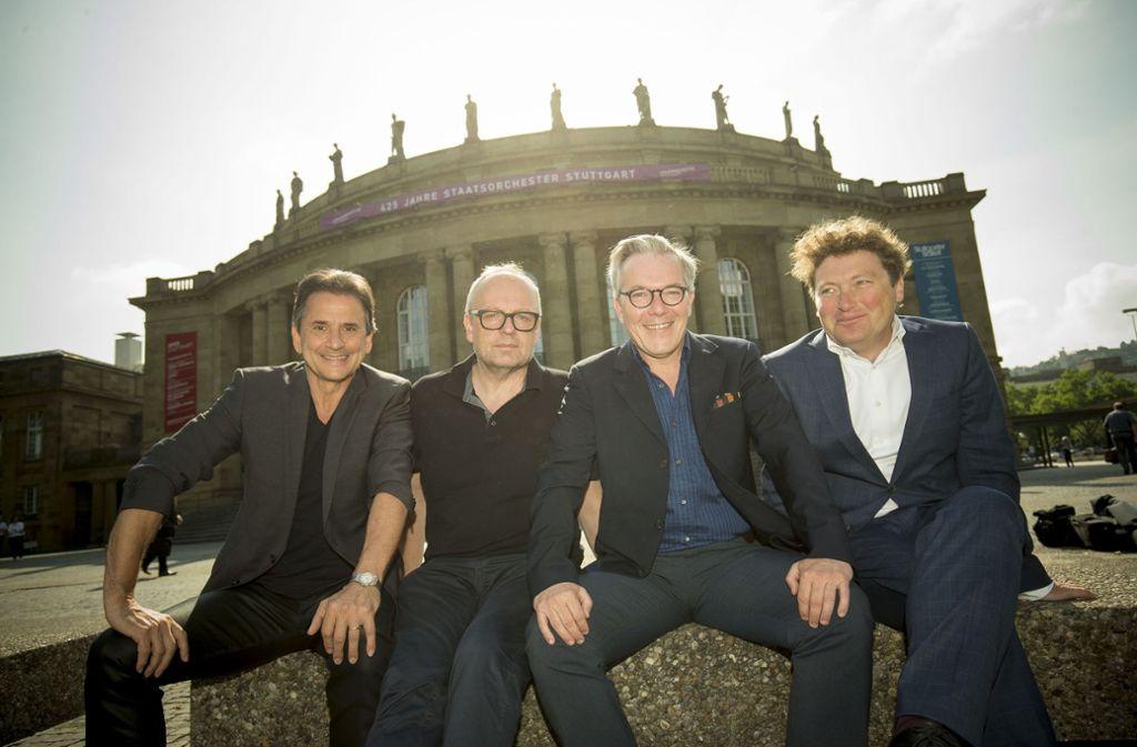 Die neuen Intendanten des Stuttgarter Staatstheaters. Foto: Lichtgut/Leif Piechowski
