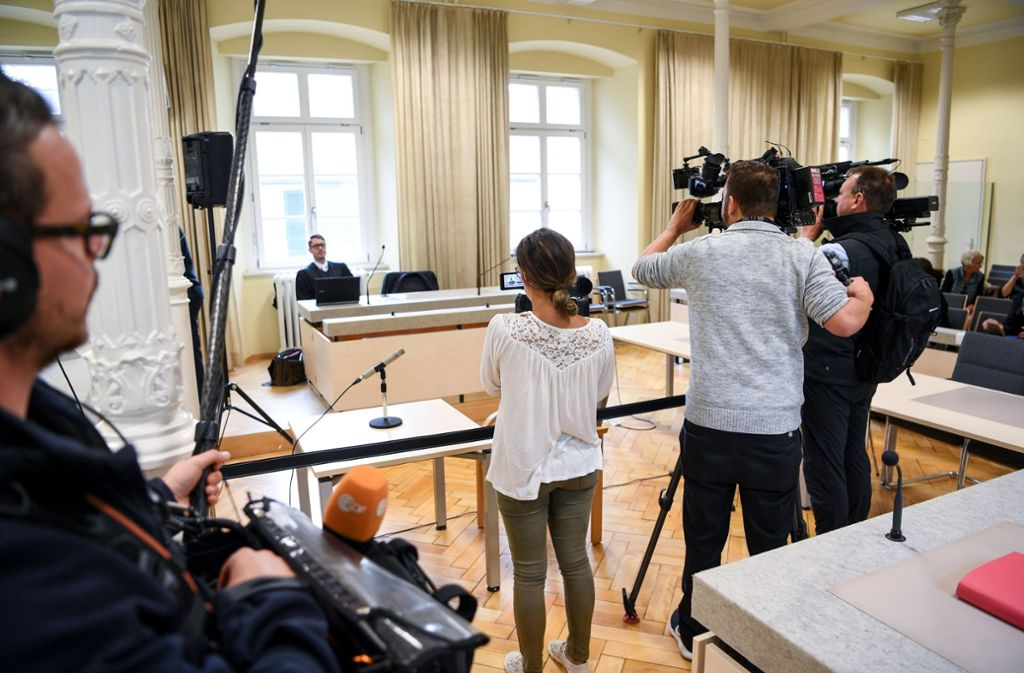 Vor dem Landgericht Ravensburg muss sich ein 54-Jähriger verantworten. Foto: dpa