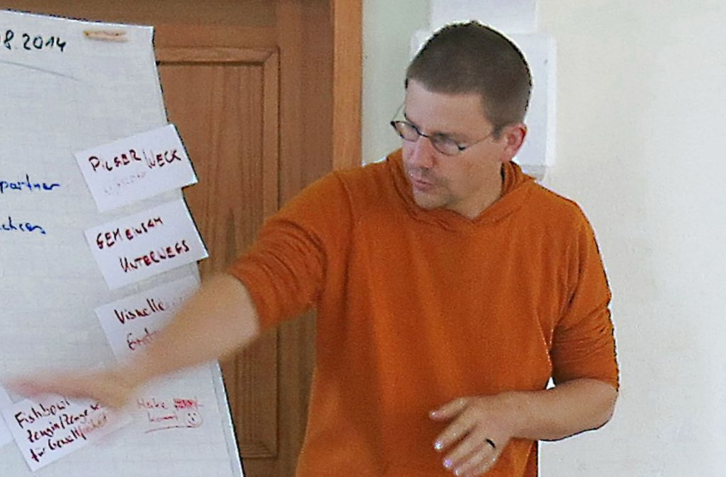 Peter Steudtner (hier auf einem Archivfoto) sitzt in der Türkei in Haft. Foto: dpa
